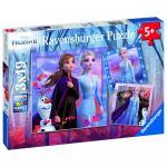 Puzzle Frozen II 3x49 piese