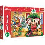 Puzzle Trefl Disney Mickey Mouse Magia Craciunului 100 piese