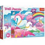 Puzzle Trefl Unicorni 160 piese