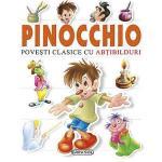 Carte Pinochio  Povesti clasice cu abtibilduri