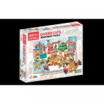Puzzle cu surprize Makermax 100 piese