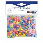Set 300 de margele colorate cu litere Playbox