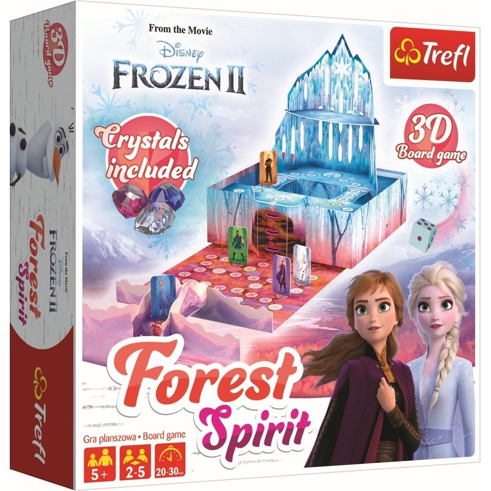 Joc Frozen 2 Forest spirit cu cristale incluse