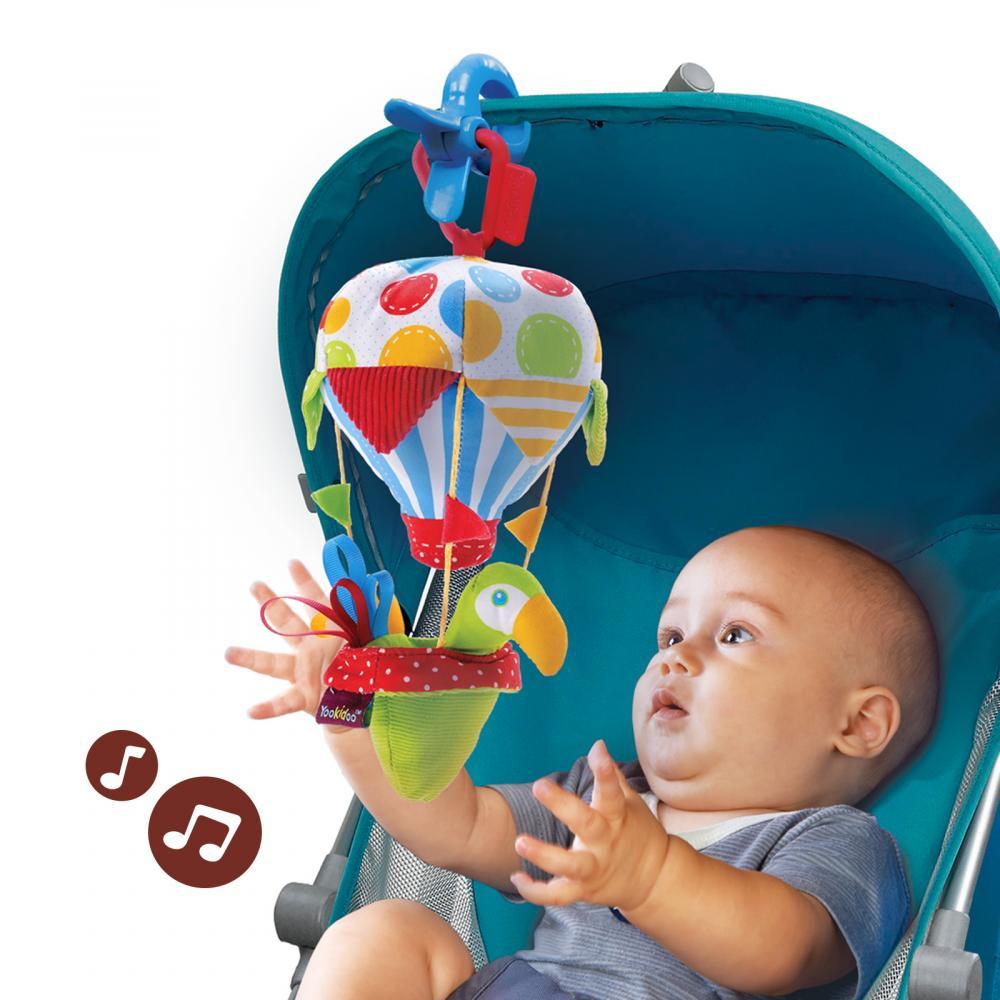 Jucarie balon muzical cu activitati Yookidoo 0 luni +