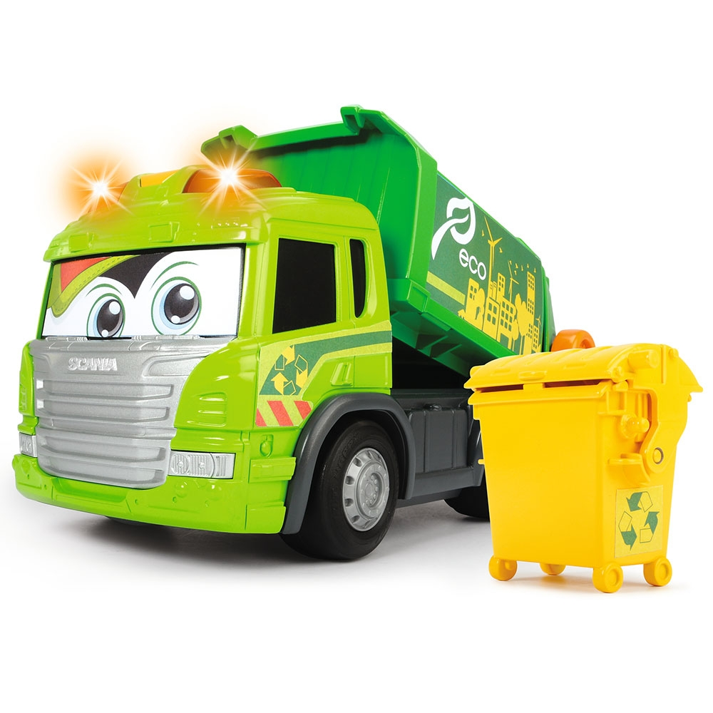 Masina de gunoi DickieToys Happy ScaniaTruck