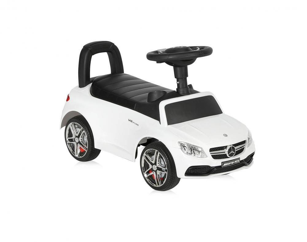 Masinuta fara pedale Mercedes Coupe muzica si sunete White imagine