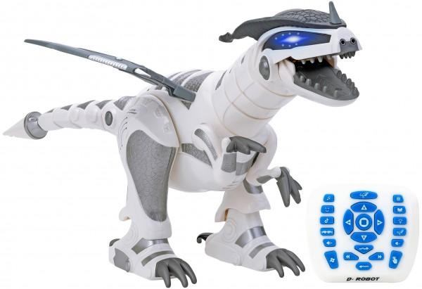 Robot de jucarie Dinozaur cu telecomanda Globo Wtoy cu incarcare USB