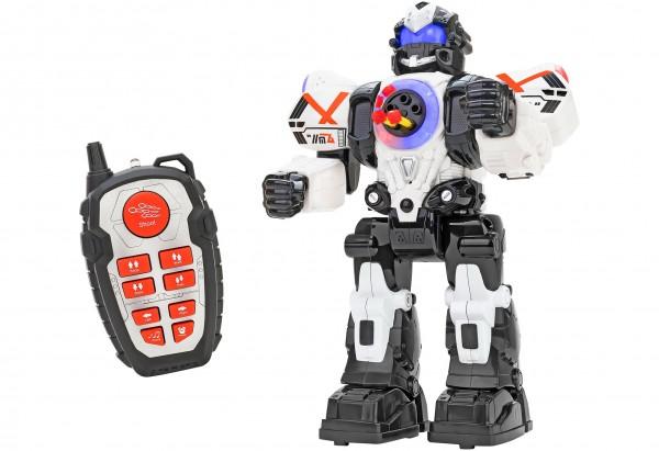 Robot de jucarie cu telecomanda Globo Wtoy 3 cu sunete si lumini