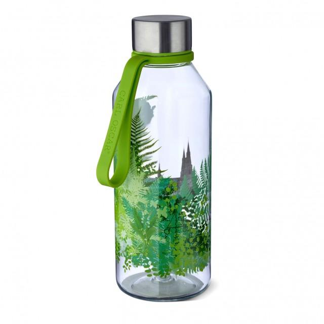 Sticla din Tritan WisdomFlask verde