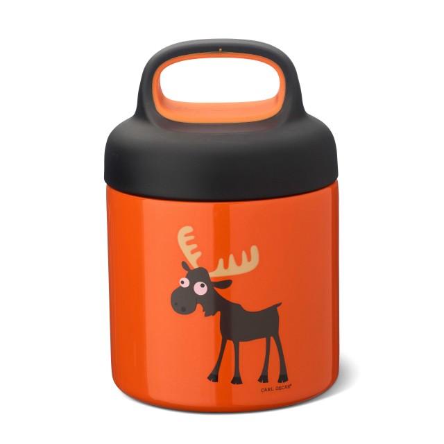 Termos pentru mancare 300 ml orange Carl Oscar