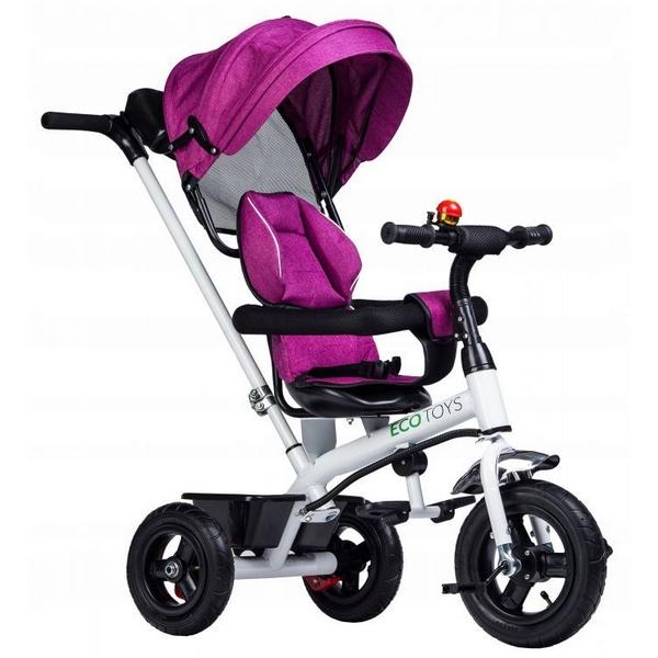 Tricicleta Ecotoys roz