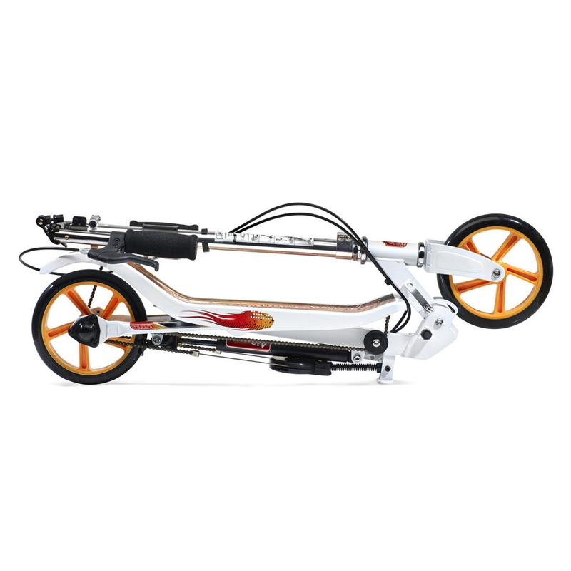 Trotineta Space Scooter X580 Series alb