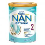 Lapte praf Nestle NAN 2 Optipro 800 g de la 6 luni