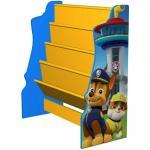Organizator carti cu cadru din lemn Paw Patrol