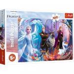 Puzzle Trefl Frozen 2 Lumea magica 100 piese