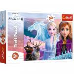 Puzzle Trefl Frozen 2 Curajoasele surori 30 piese