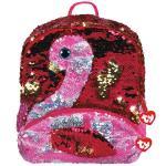 Rucsac cu paiete flamingo Gilda 2 compartimente Ty