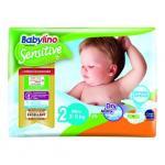 Scutece Babylino Sensitive N2 3-6 kg/26 buc
