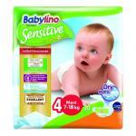 Scutece Babylino Sensitive N4 7-18 kg/20 buc