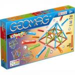 Set de constructie magnetic Geomag Confetti 88 piese