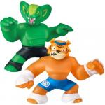 Set doua figurine Heroes of goo jit zu Tygor si Viper