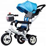 Tricicleta Ecotoys albastra