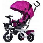 Tricicleta cu sezut rotativ Ecotoys roz