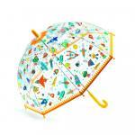Umbrela colorata nave si vehicule in zbor Djeco