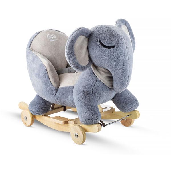 Balansoar cu roti 2 in 1 Elephant Grey