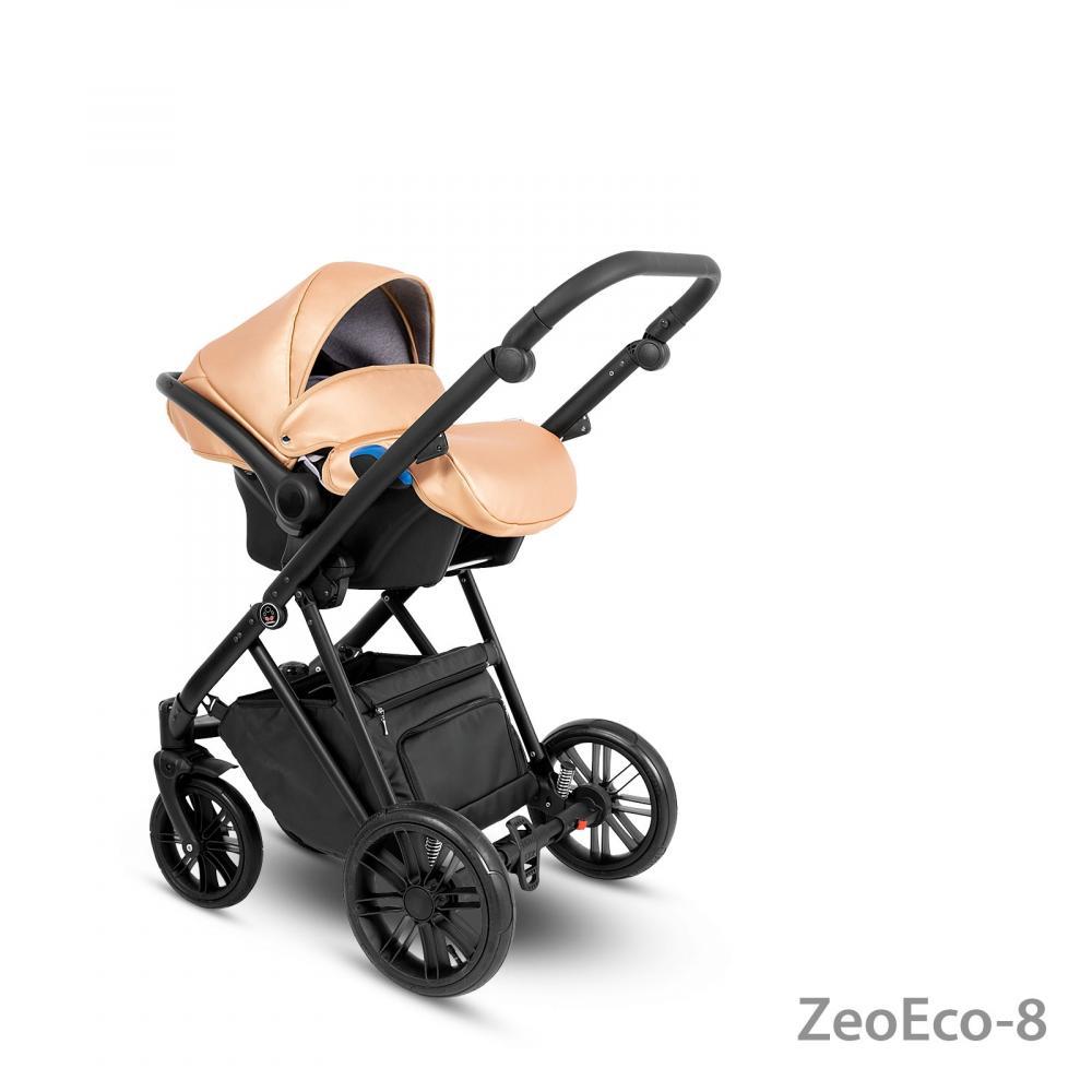 Carucior copii 3 in 1 Zeo Eco Camarelo zeo-eco-8