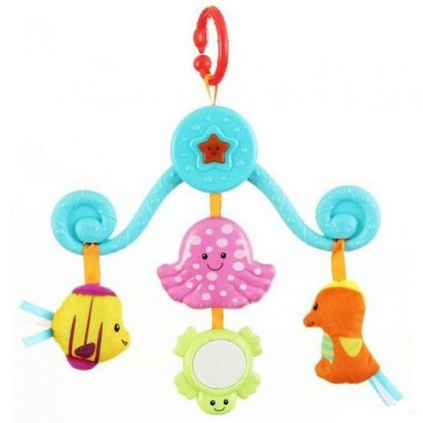 Carusel muzical pentru copii animale marine Winfun din categoria Camera copilului de la WINFUN