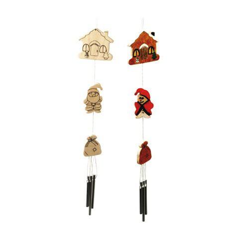 Clopotei de vant de decorat Craciun Beleduc