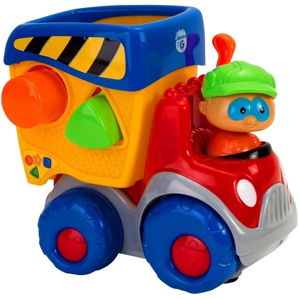 Locomotiva cu sortator Globo cu sunete si lumini