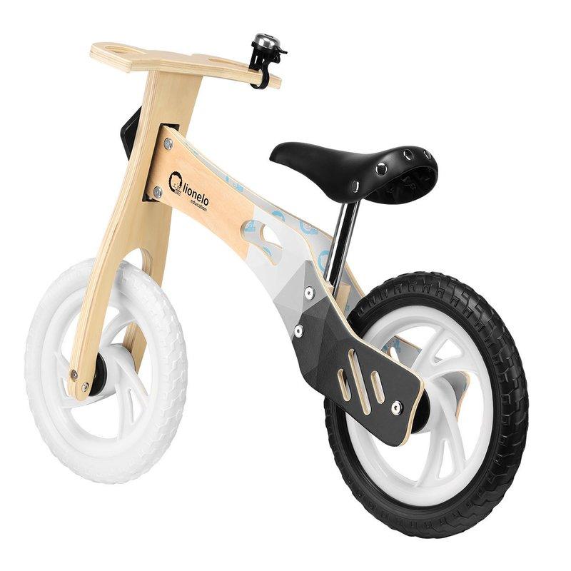 Bicicleta Din Lemn Fara Pedale Willy Carbon Lionelo