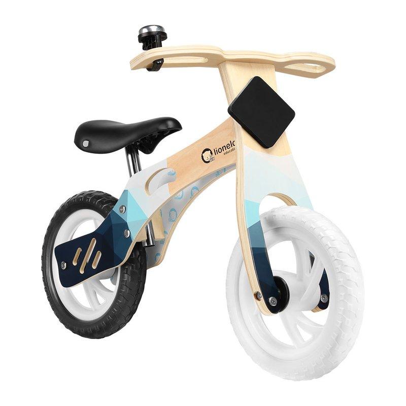 Bicicleta Din Lemn Fara Pedale Willy Indygo Lionelo