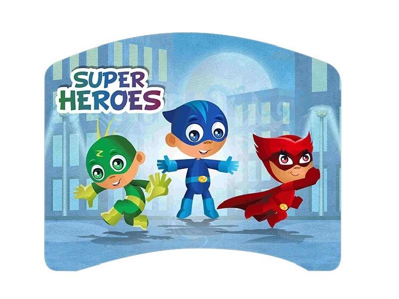 Patut Tineret Lucky 54 Super Heroes 140x80 cm