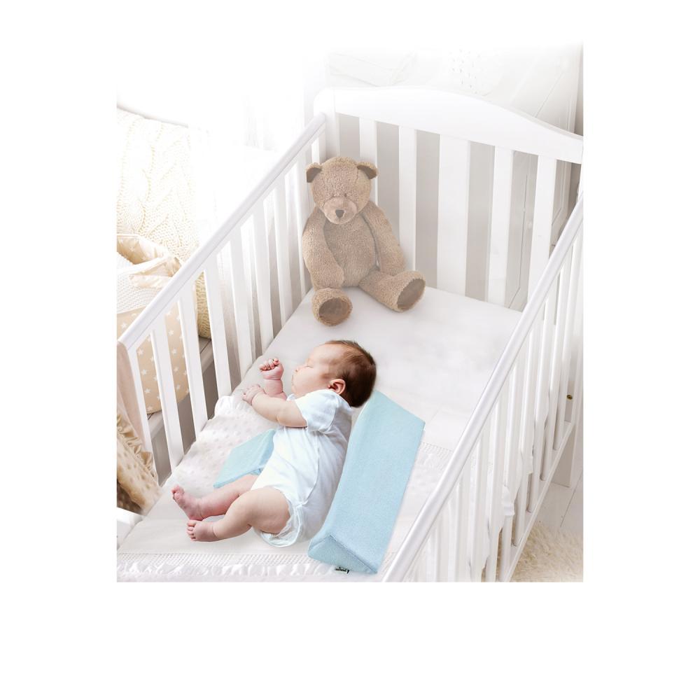 Perna anti-rasucire pentru bebelusi Side Sleep Blue