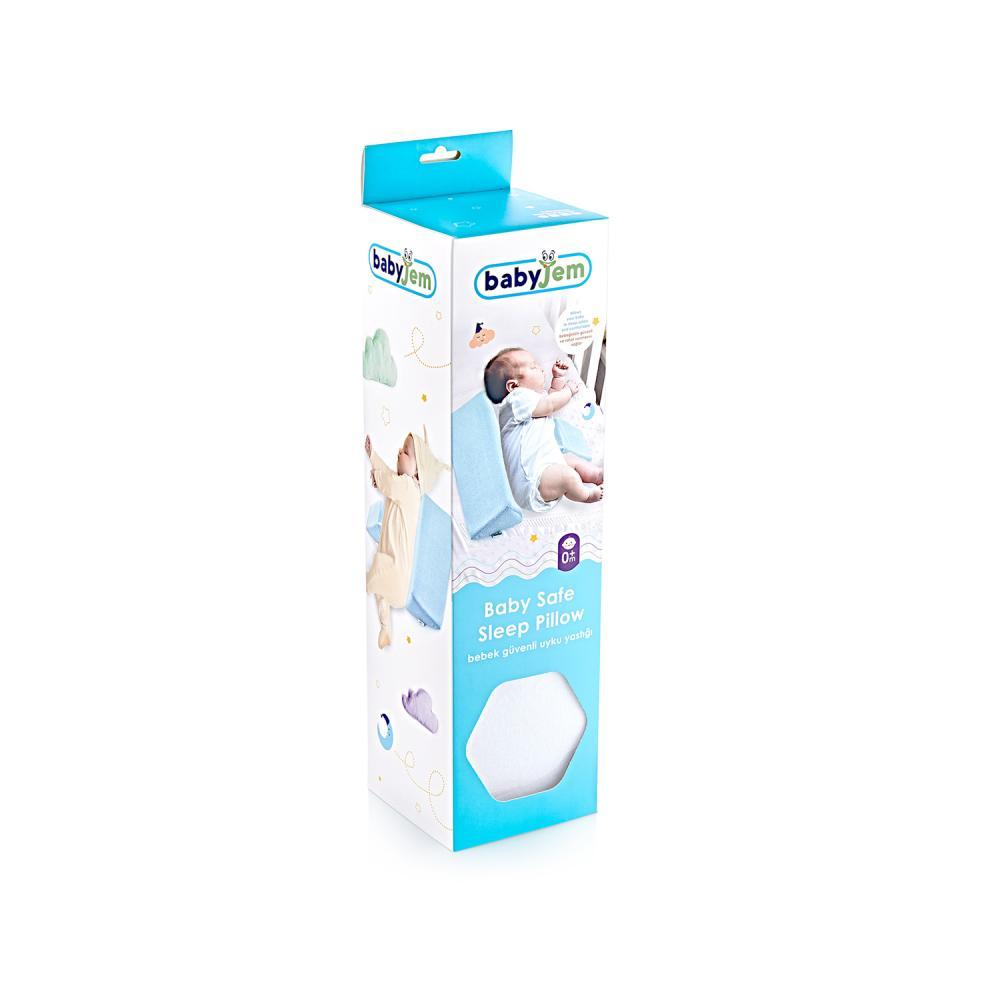 Perna anti-rasucire pentru bebelusi Side Sleep White
