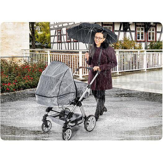 Protectie de ploaie universala cu fermoar pentru carucioare RainCover Classic+ REER 84069 - 1