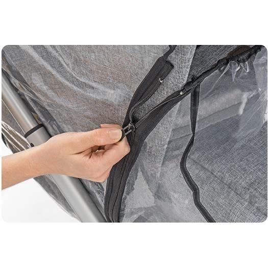 Protectie de ploaie universala cu fermoar pentru carucioare RainCover Classic+ REER 84069 - 2