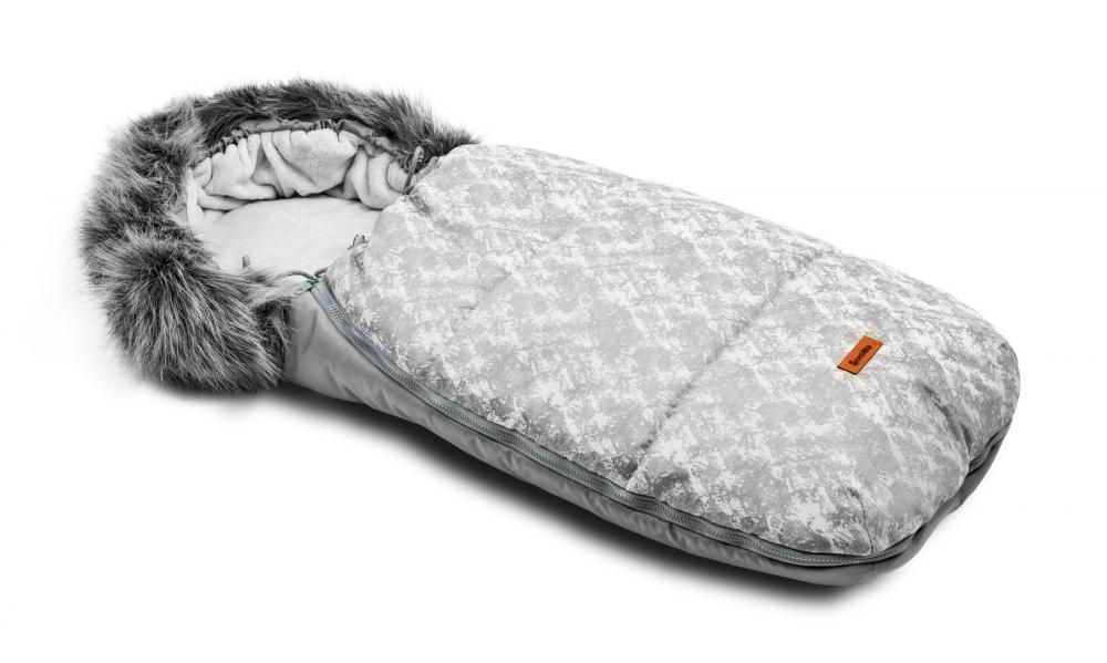 Sac de iarna Sensillo Olaf Fleece 100x45 cm Gri Deschis
