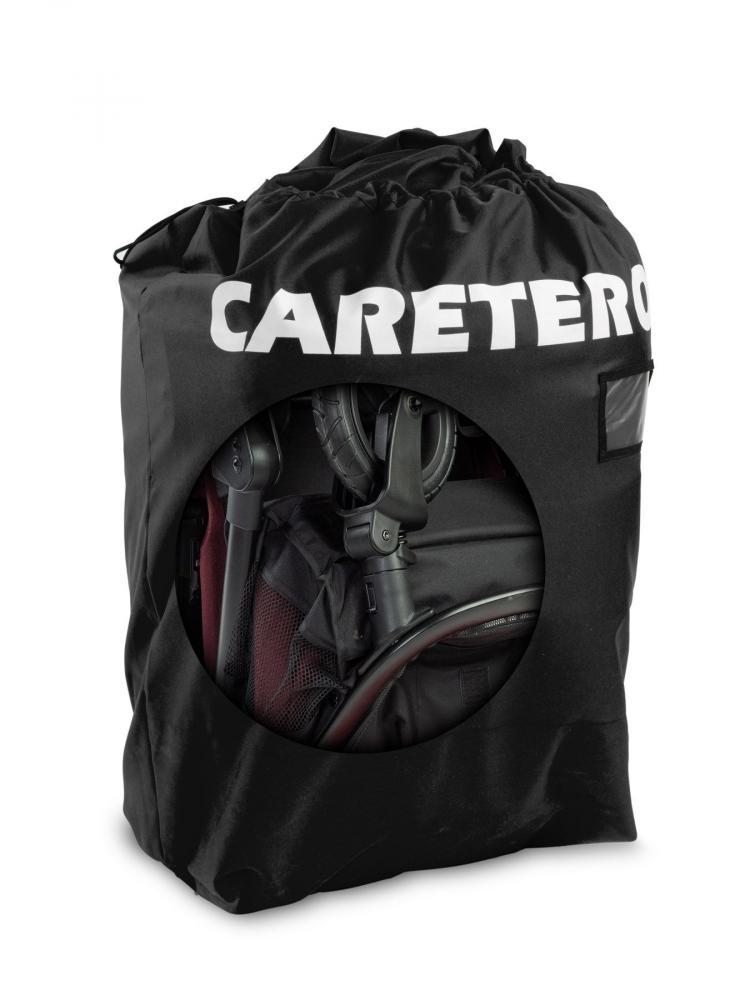 CARETERO Sac de transport pentru carucior negru