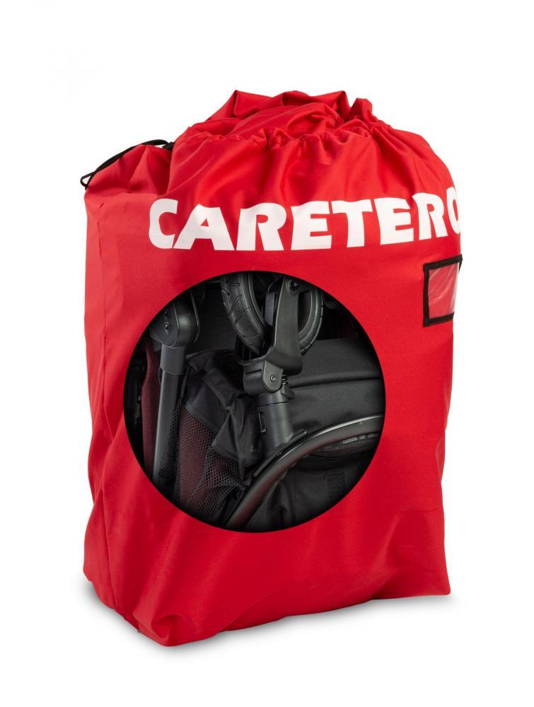 CARETERO Sac de transport pentru carucior rosu