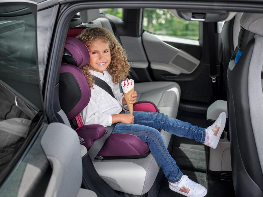 Scaun auto cu isofix Mako Core Power Berry imagine