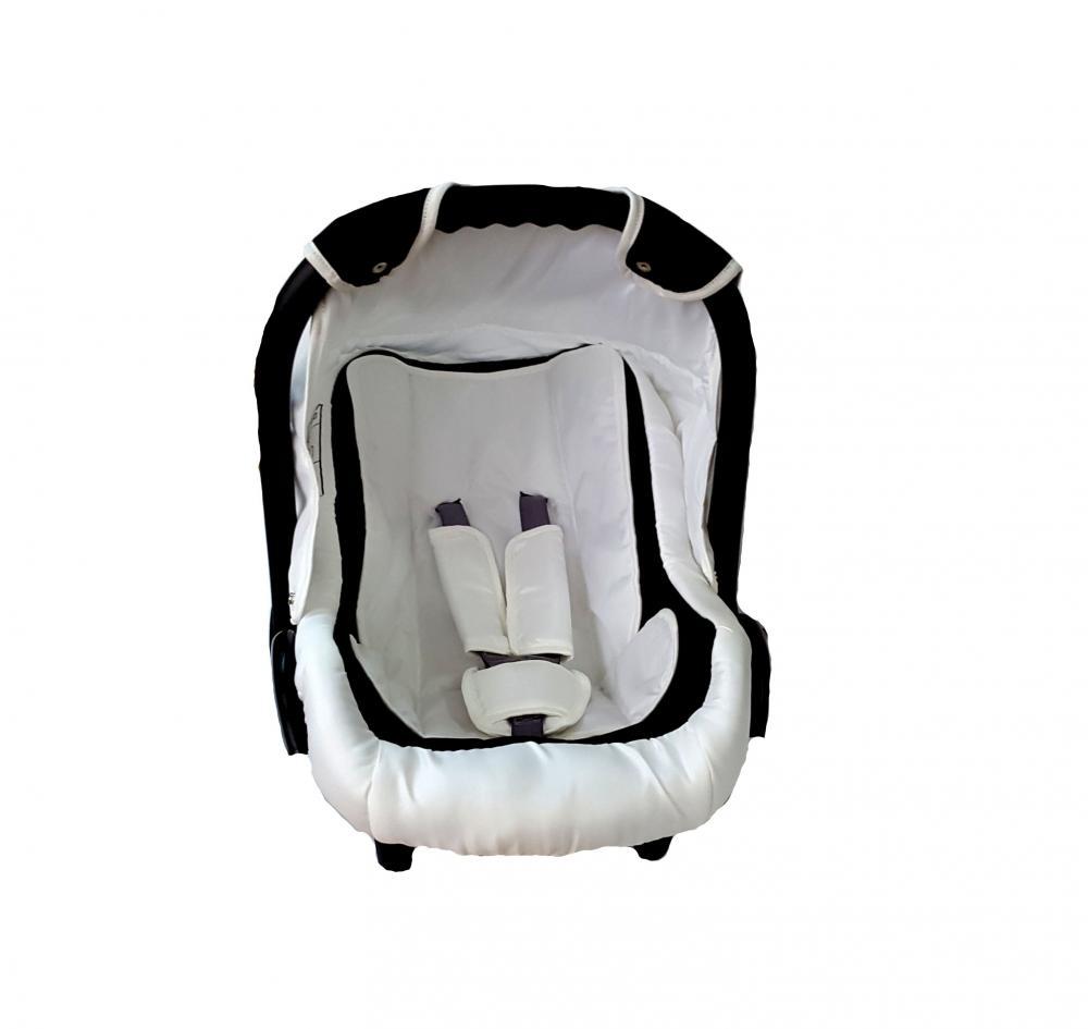 Scaun auto cosulet 0 -13 kg PJ Comfort White Black imagine