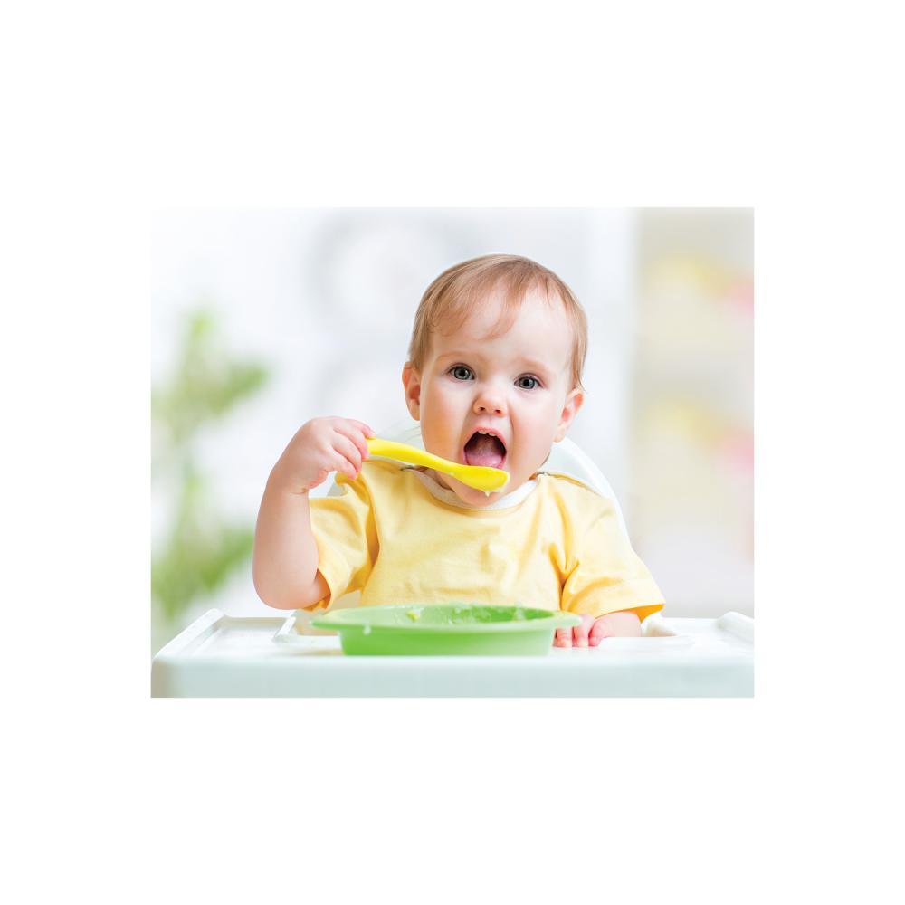 Set 2 lingurite pentru copii BabyJem GreenYellow