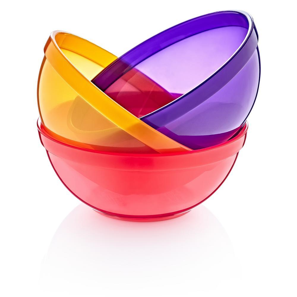 Set 3 boluri colorate pentru copii BabyJem Girl