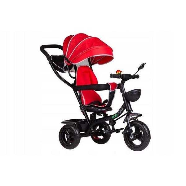Tricicleta cu sezut rotativ Ecotoys JM-066-9 Rosu