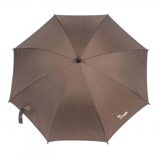 Umbrela pentru carucior copii Bo Jungle Maro cu factor protectie UV si prindere universala