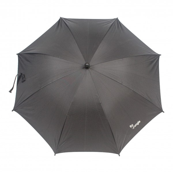 Umbrela pentru carucior copii Bo Jungle Neagra cu factor protectie UV si prindere universala din categoria Carucioare Copii de la BO Jungle
